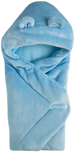 Одеяло конверт с капюшоном